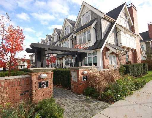 "Main Photo: 3728 WELWYN Street in Vancouver: Victoria VE Townhouse for sale in ""STORIES"" (Vancouver East)  : MLS® # V767881"