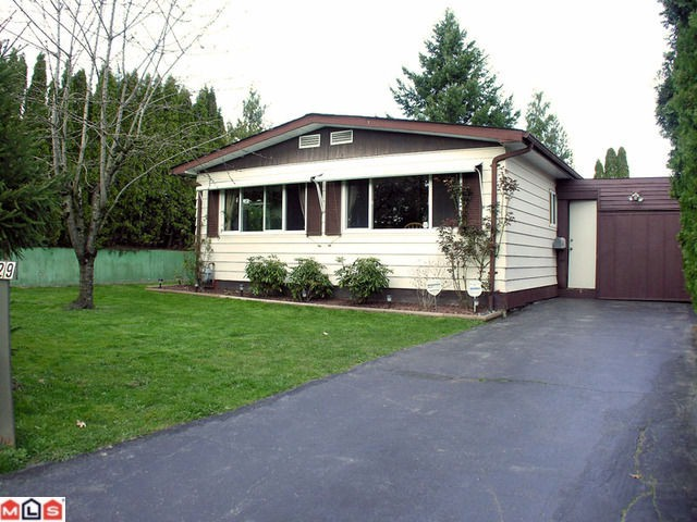 Main Photo: 2229 CRYSTAL Court in Abbotsford: Poplar Manufactured Home for sale : MLS®# F1007385
