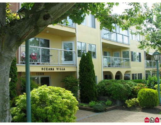"Main Photo: 215 1280 FIR Street in White_Rock: White Rock Condo for sale in ""OCEANA VILLA"" (South Surrey White Rock)  : MLS® # F2907451"