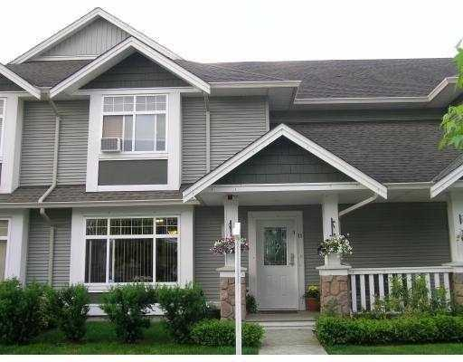 "Main Photo: 11 19148 124TH Avenue in Pitt Meadows: Mid Meadows Townhouse for sale in ""COUNTRY CROSSING"" : MLS® # V791163"