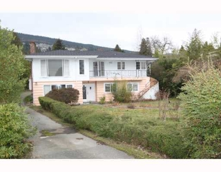 Main Photo: 2557 MARINE Drive in West Vancouver: Dundarave House for sale : MLS® # V809921