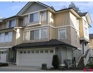 "Main Photo: 53 8383 159TH Street in Surrey: Fleetwood Tynehead Townhouse for sale in ""Avalon Woods"" : MLS® # F1005234"