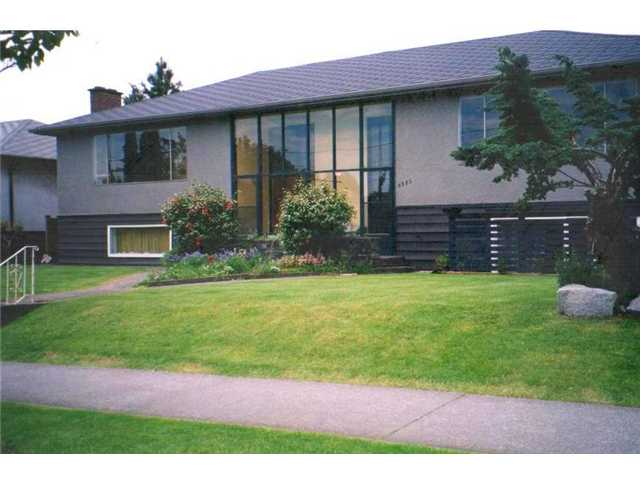 Main Photo: 6385 CAMBIE Street in Vancouver: Oakridge VW House Duplex for sale (Vancouver West)  : MLS(r) # V857570