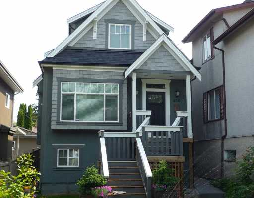 Main Photo: 450 E 22ND Avenue in Vancouver: Fraser VE House for sale (Vancouver East)  : MLS®# V770811