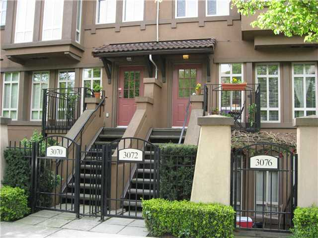 "Main Photo: 3072 W 4TH Avenue in Vancouver: Kitsilano Townhouse for sale in ""SANTA BARBARA"" (Vancouver West)  : MLS® # V823910"