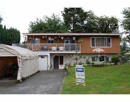 Main Photo: 21644 MANOR Avenue in Maple_Ridge: West Central House for sale (Maple Ridge)  : MLS® # V773676