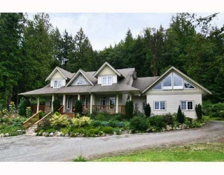 Main Photo: 11630 284TH Street in Maple Ridge: Whonnock House for sale : MLS® # V809162