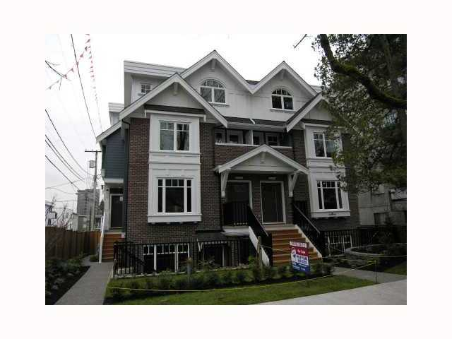 Main Photo: 2838 SPRUCE Street in Vancouver: Fairview VW Townhouse for sale (Vancouver West)  : MLS® # V817088