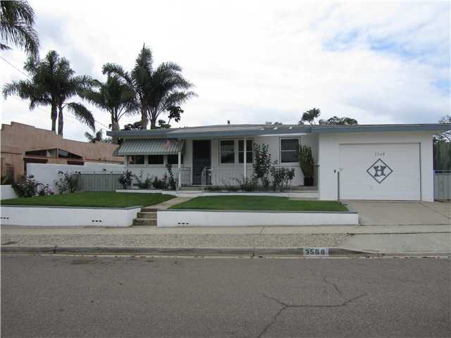 Main Photo: CLAIREMONT House for sale : 3 bedrooms : 3568 Tomahawk in San Diego