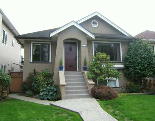 "Main Photo: 2774 WILLIAM Street in Vancouver: Renfrew VE House for sale in ""RENFREW"" (Vancouver East)  : MLS® # V615703"