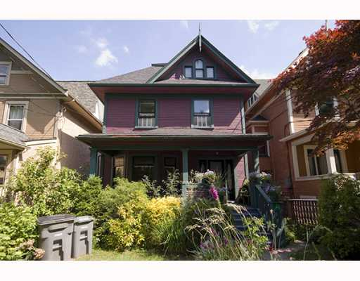 Main Photo: 31 W 11TH Avenue in Vancouver: Mount Pleasant VW House for sale (Vancouver West)  : MLS® # V773321