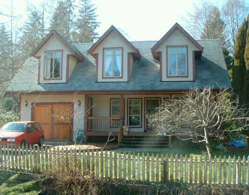 Main Photo: 319 BURNS RD in Gibsons: Gibsons & Area House for sale (Sunshine Coast)  : MLS® # V580513