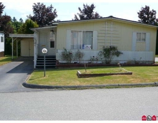 "Main Photo: 101 1884 MCCALLUM Road in Abbotsford: Central Abbotsford Manufactured Home for sale in ""GARDEN VILLAGE"" : MLS®# F2922686"