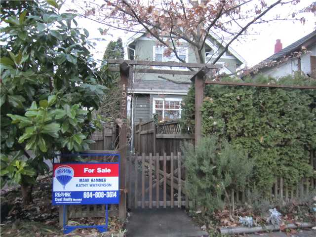 Main Photo: 1927 CHARLES Street in Vancouver: Grandview VE House 1/2 Duplex for sale (Vancouver East)  : MLS(r) # V859734
