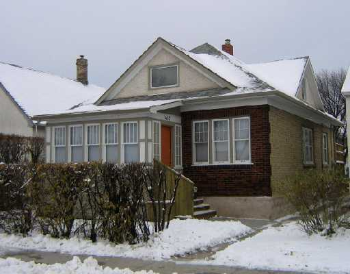 Main Photo: 1637 ARLINGTON Street in WINNIPEG: North End Residential for sale (North West Winnipeg)  : MLS(r) # 2821223