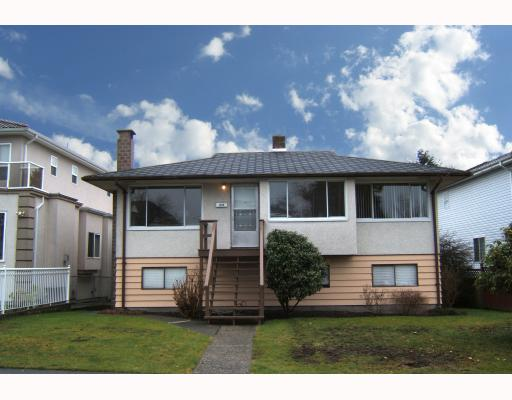 "Main Photo: 1858 UPLAND Drive in Vancouver: Fraserview VE House for sale in ""FRASERVIEW"" (Vancouver East)  : MLS® # V757797"