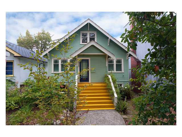 Main Photo: 4313 W 11TH Avenue in Vancouver: Point Grey House for sale (Vancouver West)  : MLS®# V851143
