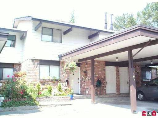 "Main Photo: 161 7484 138TH Street in Surrey: East Newton Townhouse for sale in ""Glencoe Estates"" : MLS(r) # F1100586"