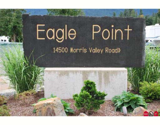"Main Photo: 93 14500 MORRIS VALLEY Road in Mission: Lake Errock Home for sale in ""Eagle Point Estates"" : MLS® # F2905639"