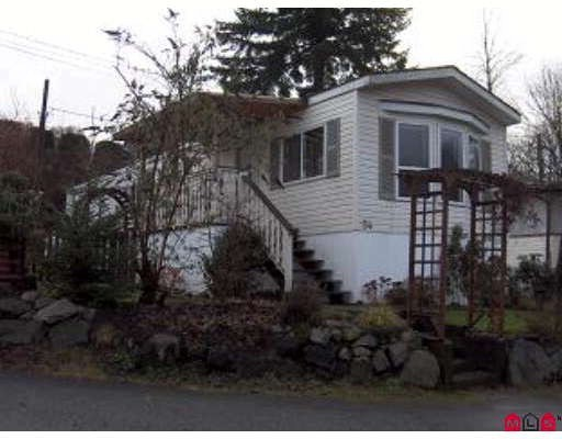 "Main Photo: 54 9950 WILSON Street in Mission: Stave Falls Manufactured Home for sale in ""Ruskin Trailer Park"" : MLS® # F2826804"
