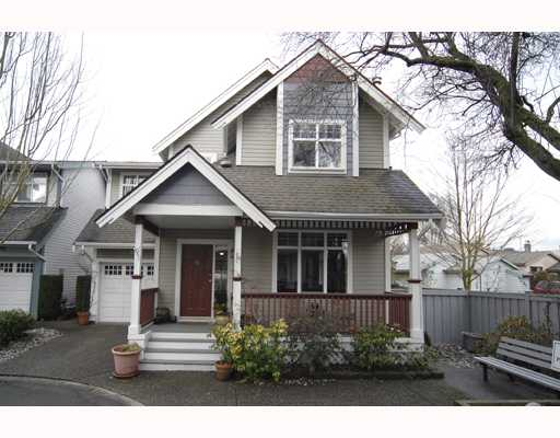 Main Photo: 10 4771 GARRY Street in Richmond: Steveston South Townhouse for sale : MLS®# V754073