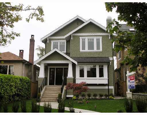 Main Photo: 4073 W 18TH Avenue in Vancouver: Dunbar House for sale (Vancouver West)  : MLS® # V755311