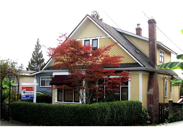 "Main Photo: 1418 7TH Avenue in New Westminster: West End NW House for sale in ""WEST END"" : MLS(r) # V854555"
