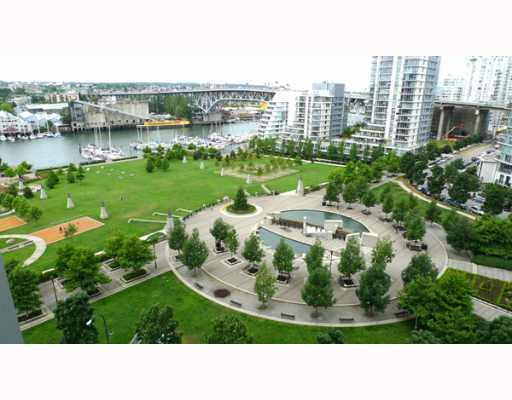 "Main Photo: 1205 455 BEACH Crescent in Vancouver: False Creek North Condo for sale in ""PARK WEST ONE"" (Vancouver West)  : MLS®# V773945"