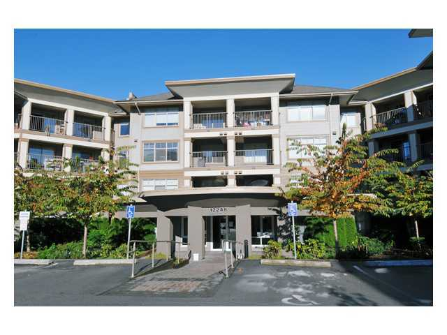 "Main Photo: 421 12248 224TH Street in Maple Ridge: East Central Condo for sale in ""URBANO"" : MLS®# V862547"