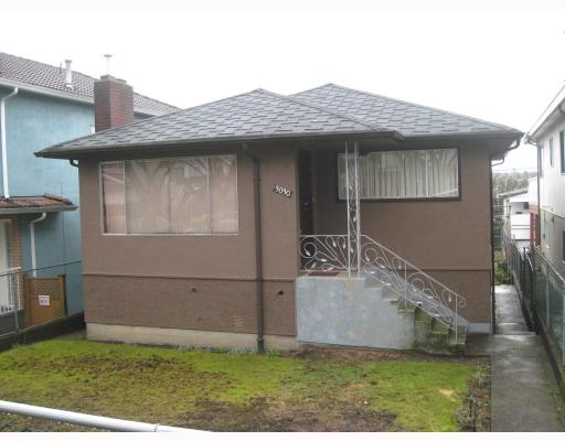 Main Photo: 3030 E 7TH Avenue in Vancouver: Renfrew VE House for sale (Vancouver East)  : MLS® # V812173