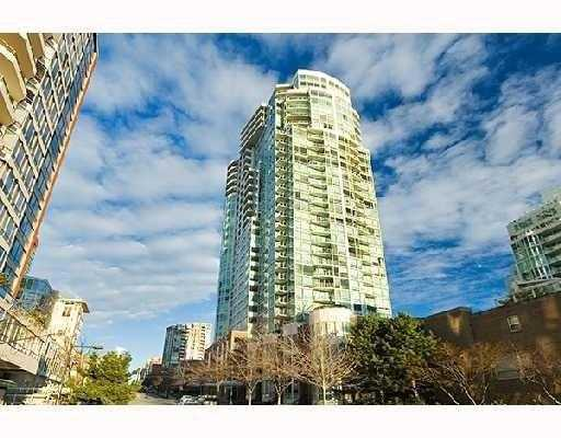 "Main Photo: 1508 1500 HORNBY Street in Vancouver: False Creek North Condo for sale in ""888 BEACH"" (Vancouver West)  : MLS®# V771057"