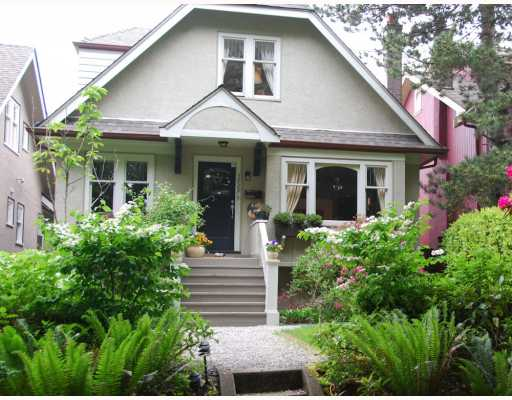 Main Photo: 3929 W 22ND Avenue in Vancouver: Dunbar House for sale (Vancouver West)  : MLS® # V778577