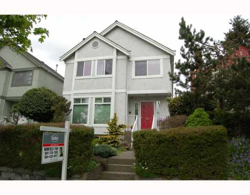 Main Photo: 4169 W 16TH Avenue in Vancouver: Point Grey House for sale (Vancouver West)  : MLS® # V765037