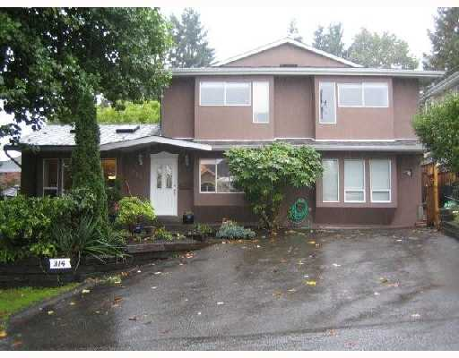 Main Photo: 314 BEGIN Street in Coquitlam: Maillardville House for sale : MLS® # V739318