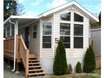 Main Photo: 5 5621 Sooke Road in SOOKE: Sk Saseenos Manu Single-Wide for sale (Sooke)  : MLS® # 283662