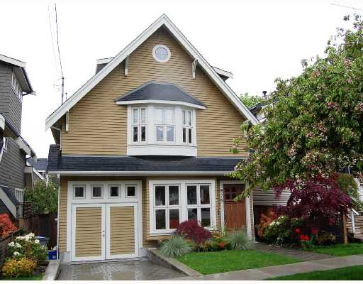 "Main Photo: 875 W 24TH Avenue in Vancouver: Cambie House for sale in ""DOUGLAS PARK"" (Vancouver West)  : MLS(r) # V722900"