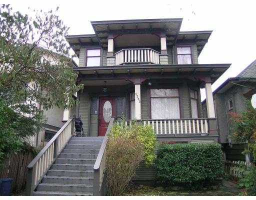 Main Photo: 3262 FLEMING Street in Vancouver: Knight House for sale (Vancouver East)  : MLS® # V755976