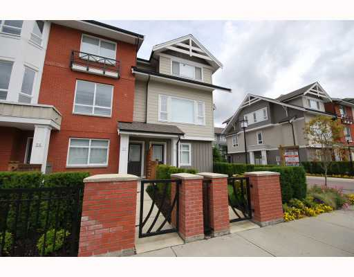 Main Photo: 57 9551 FERNDALE Road in Richmond: McLennan North Townhouse for sale : MLS® # V776140