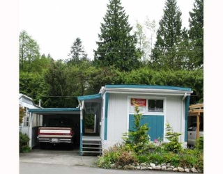 "Main Photo: 12 4200 DEWDNEY TRUNK Road in Coquitlam: Ranch Park Manufactured Home for sale in ""HIDEAWAY PARK"" : MLS® # V809823"