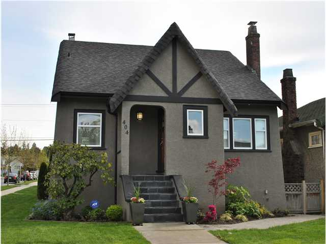 "Main Photo: 404 W 23RD Avenue in Vancouver: Cambie House for sale in ""CAMBIE VILLAGE"" (Vancouver West)  : MLS® # V828426"