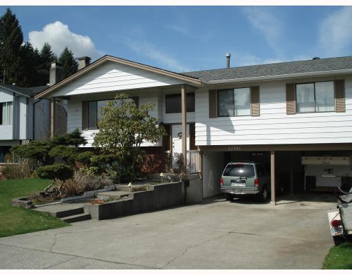 Main Photo: 21301 CAMPBELL Avenue in Maple_Ridge: West Central House for sale (Maple Ridge)  : MLS®# V761299