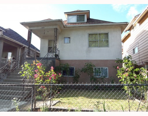 Main Photo: 1923 E 1ST Avenue in Vancouver: Grandview VE House for sale (Vancouver East)  : MLS® # V773277