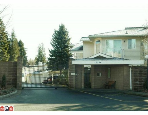 Main Photo: 222 10584 153 Street in Surrey: Guildford Townhouse for sale : MLS® # F1004341
