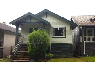 "Main Photo: 2323 GRAVELEY Street in Vancouver: Grandview VE House for sale in ""GRANVIEW"" (Vancouver East)  : MLS® # V1063357"