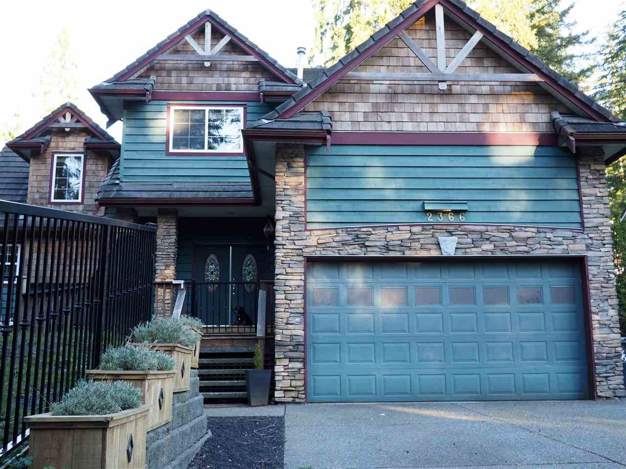 Main Photo: 2366 SUNNYSIDE Road: Anmore House for sale (Port Moody)  : MLS® # R2159024