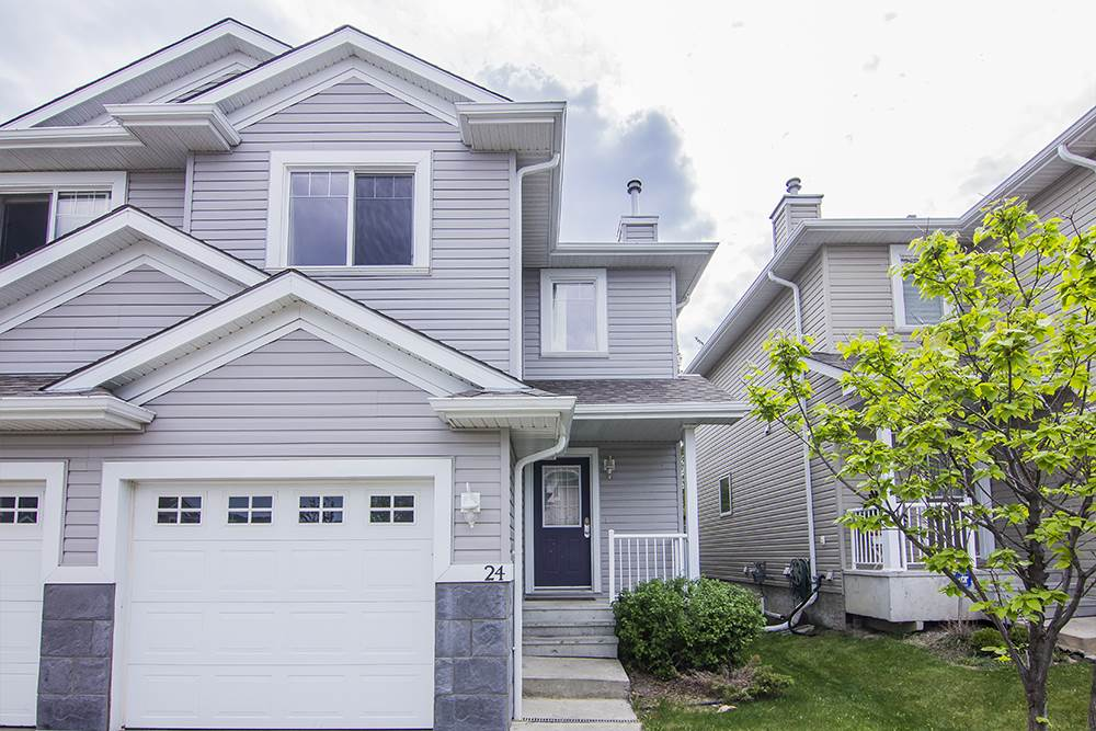 Main Photo: 24 120 MAGRATH Road in Edmonton: Zone 14 House Half Duplex for sale : MLS® # E4065394