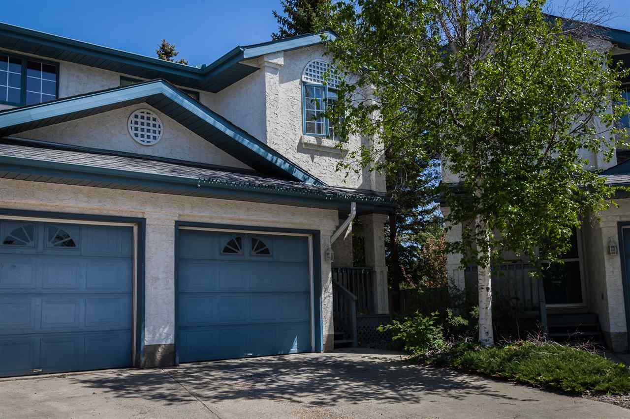 Main Photo: 129 BULYEA Road in Edmonton: Zone 14 Townhouse for sale : MLS® # E4067029