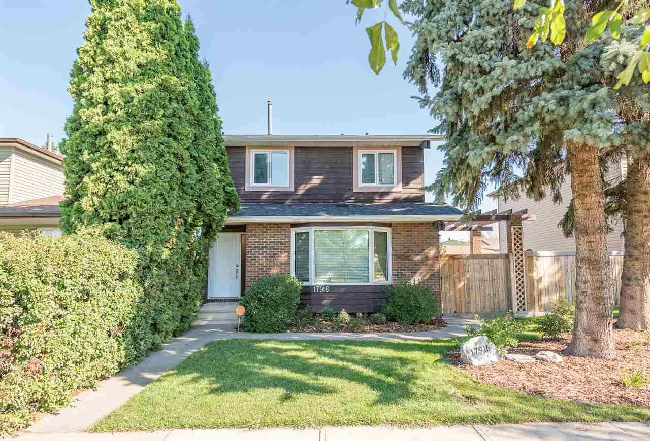Main Photo: 17916 76 Avenue in Edmonton: Zone 20 House for sale : MLS® # E4077741