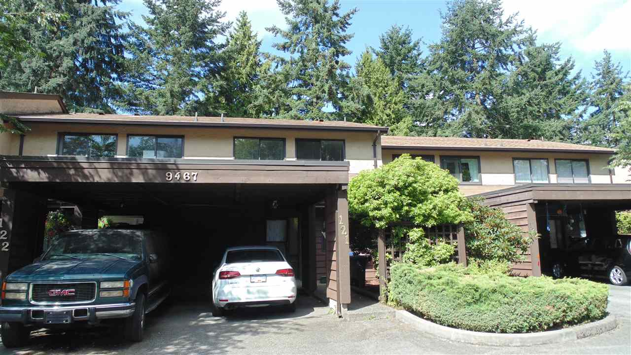 Main Photo: 121 9467 PRINCE CHARLES Boulevard in Surrey: Queen Mary Park Surrey Townhouse for sale : MLS® # R2197808