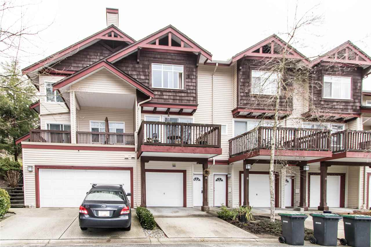 "Main Photo: 46 15 FOREST PARK Way in Port Moody: Heritage Woods PM Townhouse for sale in ""DISCOVERY RIDGE"" : MLS®# R2236155"